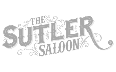 The Sutler Saloon logo