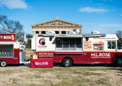 ML Rose Food Truck and Tap Trailer