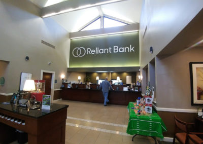 Reliant Bank Interior