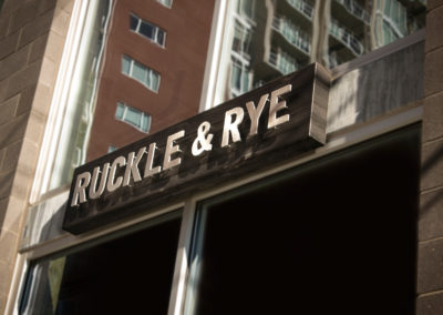 Ruckle & Rye
